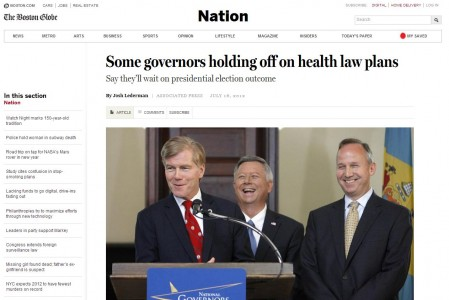 Governors healthcare